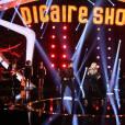 """Exclusif - Véronic DiCaire et Michaël Gregorio -Enregistrement de l'émission """"DiCaire Show"""", qui sera diffusée sur France 2 le 12 mars, à Paris. Le 7 mars 2016 © Denis Guignebourg / Bestimage"""