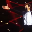 Augustin Galiana (The Garbo) dans Rising Star, en 2014, sur M6