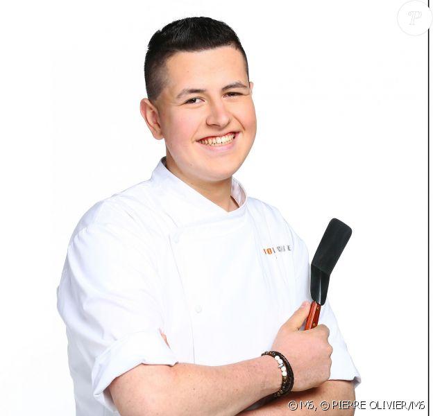 Charles Gantois, candidat de Top Chef 2016