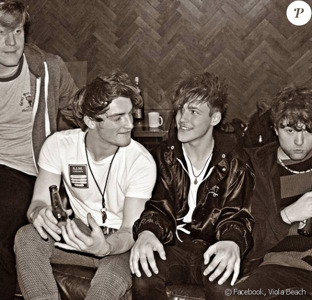 Le groupe Viola Beach.