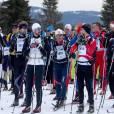 Le prince héritier Haakon de Norvège et le prince héritier Frederik de Danemark ont disputé la course de ski de fond Birkebeiner (Birkebeinerrennet) le 19 mars 2016 entre Rena et Lillehammer, en Norvège. Haakon a devancé son ami d'une heure sur la ligne d'arrivée.