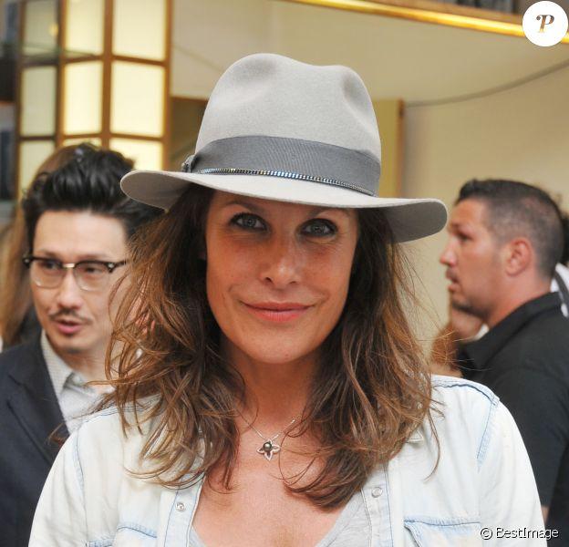 Astrid Veillon lors du 12e festival Les Hérault du Cinéma et de la Télévision au Cap d'Agde, le 18 juin 2015