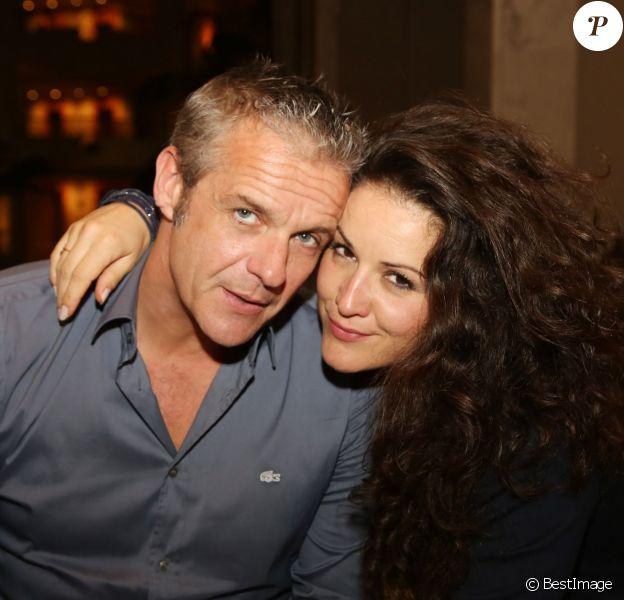 Exclusif - David Brécourt et sa compagne Alexandra - Escapade des stars de Djerba à l'Hotel Radisson Blu Palace Resort & Thalasso à Djerba en Tunisie le 7 novembre 2015.