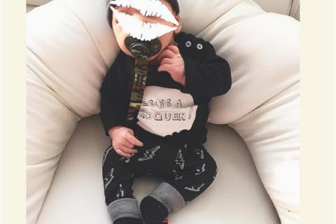 Aurélie Van Daelen, maman épanouie : Son petit Pharell prend déjà la pose !