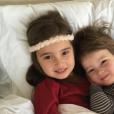 Ivanka Trump a publié une photo de ses deux enfants, Arabella Rose et Joseph Frederick, sur sa page Instagram, le 26 mars 2016.