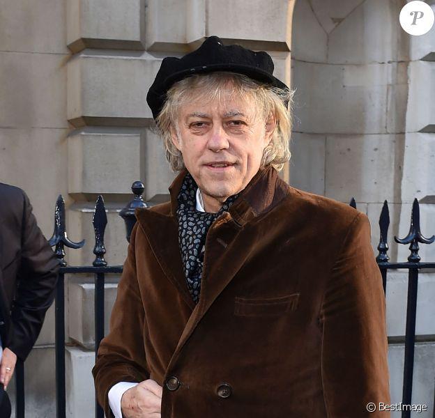 Sir Bob Geldof, le 5/03/2016 - Londres