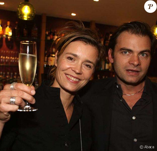 Clovis Cornillac et sa femme Caroline Proust
