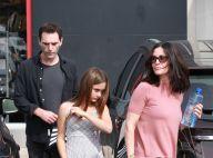 Courteney Cox : Avec son ex et sa fille Coco... en talons hauts à 11 ans !