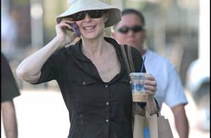 REPORTAGE PHOTOS EXCLUSIVES : Marcia Cross accro aux légumes... bio !