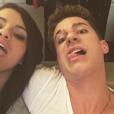 Charlie Puth et Selena Gomez. Photo publiée sur Instagram au mois de novembre 2015.
