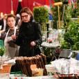 Exclusif - La princesse Caroline de Hanovre à la kermesse de l'Oeuvre de Soeur Marie au marché de Fontvieille à Monaco le 1er avril 2016 © Olivier Huitel / Pool restreint Monaco / Bestimage