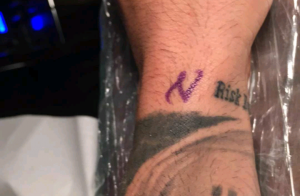 Ricardo (Les Anges 8) a Nehuda dans la peau : Son tatouage en son honneur