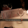 "Ricardo des ""Anges 8"" et Nehuda au restaurant, en amoureux"