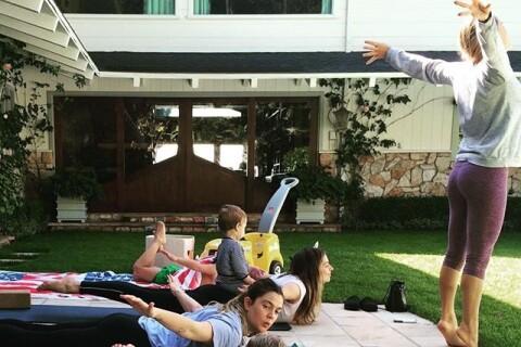 Drew Barrymore séparée : La star s'offre une pause yoga avec sa fille Olive