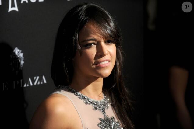 """Michelle Rodriguez - Soirée """"Harper's Bazaar Icons"""" à l'hôtel Plaza à New York, le 16 septembre 2015."""