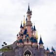 Ali et Alia ont passé une journée féérique à Disneyland Paris. Avril 2016.