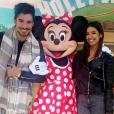 """Ali et Alia (""""Secret Story 9"""") ont passé une journée féérique à Disneyland Paris. Avril 2016."""
