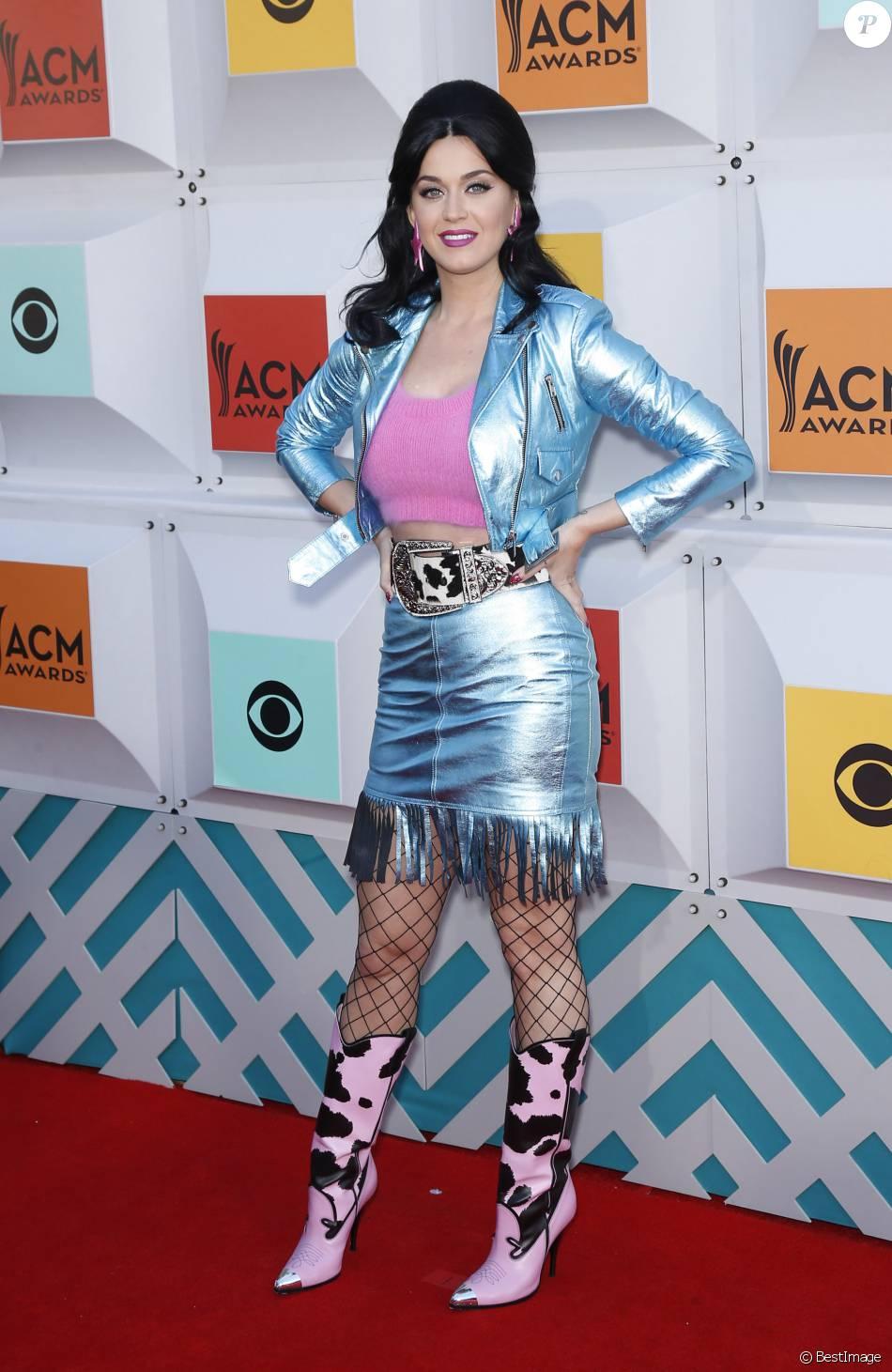 "Katy Perry lors du ""51st Annual ACM Awards"" à l'hôtel MGM de Las Vegas le 3 Avril 2016.© Mjt/AdMedia via ZUMA Wire / Bestimage"