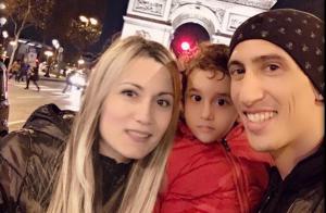 Angel Di María (PSG) : Avec sa fille Mia, leçon de français à la maison