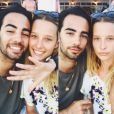 Ilona Smet pose avec son amoureux Kamran Ahmed (photo postée le 9 août 2015)