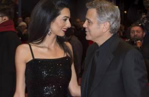 George Clooney, dingue d'Amal :
