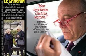 Alain Juppé se défend : Un père