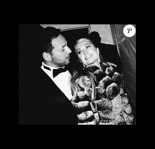 Paris Hilton et son petit ami Thomas Gross se sont séparés. Photo du couple publiée l'an dernier sur la page Instagram de la riche héritière.