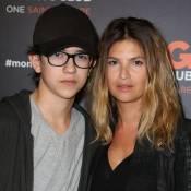 Isabelle Funaro et son fils : Sean est le sosie de son père, Pascal Obispo !