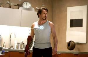 PHOTOS : Robert Downey Jr. décidément très à l'aise dans la combinaison de... Iron Man !
