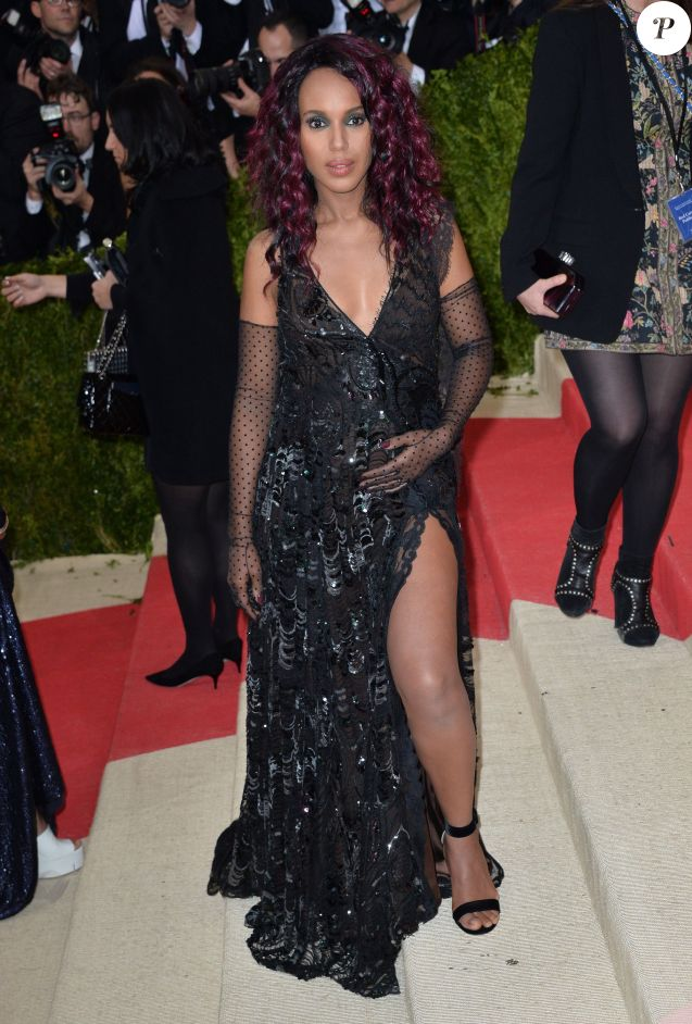 "Kerry Washington - Soirée Costume Institute Benefit Gala 2016 (Met Ball) sur le thème de ""Manus x Machina"" au Metropolitan Museum of Art à New York, le 2 mai 2016."