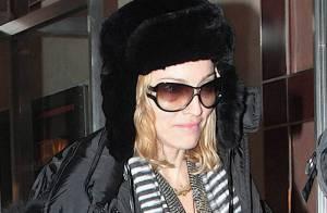 Madonna lutte contre le froid