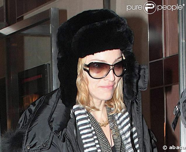 Madonna et ses bonnets