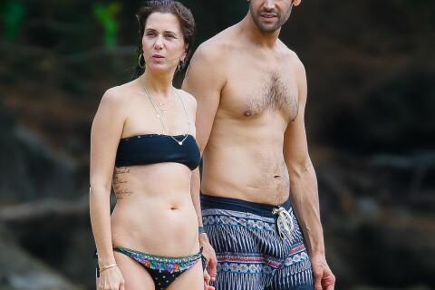 Kristen Wiig en bikini : Câlins complices à Hawaï avec son nouveau chéri