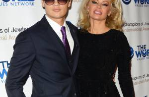 Pamela Anderson, radieuse au côté de son fils Brandon, beau gosse et poseur