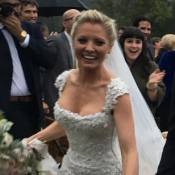Kaitlin Doubleday mariée sous la pluie : La blonde glaciale d'Empire a dit oui