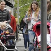 Drew Barrymore : Maman au naturel, très décontractée avec Olive et Frankie