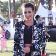 L'actrice Lea Michele lors du festival de musique de Coachella le 16Avril 2016.
