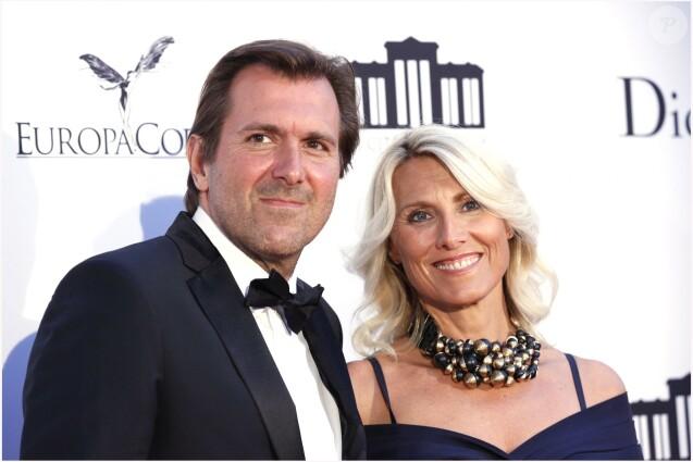 Christophe Lambert et Marie Sara- Soirée d'inauguration de la Cité du Cinéma à Saint Denis, en France, le 21 septembre 2012