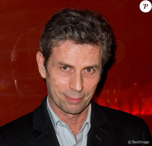 Frédéric Taddeï, lors de l'inauguration de la discothèque Les Bains Douches à Paris, le 6 mars 2015.