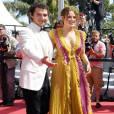 """Shia LaBeouf, Riley Keough - Montée des marches du film """"American Honey"""" lors du 69ème Festival International du Film de Cannes. Le 15 mai 2016. © Borde-Jacovides-Moreau/Bestimage"""