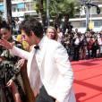 """Shia LaBeouf - Montée des marches du film """"American Honey"""" lors du 69ème Festival International du Film de Cannes. Le 15 mai 2016. © Borde-Jacovides-Moreau/Bestimage"""