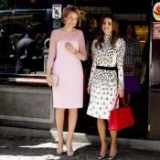 Rania de Jordanie et Mathilde de Belgique : Balade chic et gourmande à Bruges