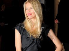 REPORTAGE PHOTOS : Claudia Schiffer, un look total black, classe totale !