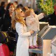 Geri Halliwell et sa fille Bluebell Madonna dont la marraine est Victoria Beckham