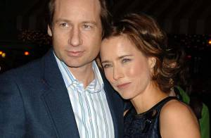 David Duchovny et son épouse Téa Léoni... tout a l'air d'aller bien dans le couple !