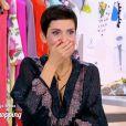 """Audrey, candidate des """"Reines du shopping"""" sur M6, abandonne en pleine émission. Cristina Cordula choquée. Le 23 mai 2016."""