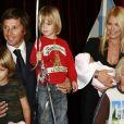 Valeria Mazza, Alejandro Gravier et leurs quatre enfants
