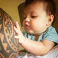 Dwayne Johnson et sa fille Jasmine (photo postée le 29 mai 2016)