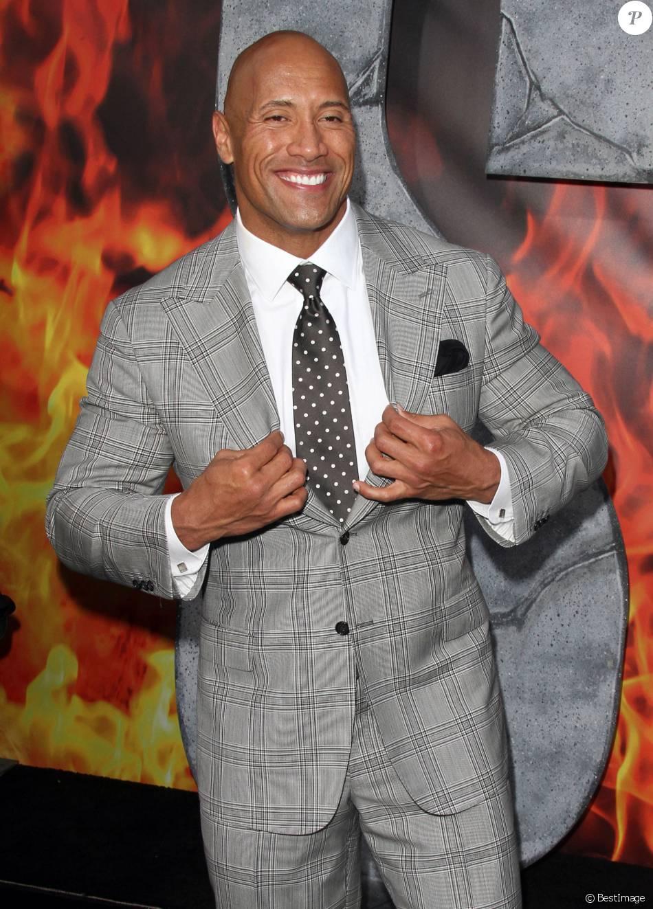 """Dwayne Johnson - Première du film """"San Andreas"""" à Los Angeles le 26 mai 2015."""