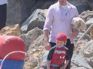 Robert Downey Jr. et Exton, 4 ans : Iron Man s'éclate avec son Spider-fiston
